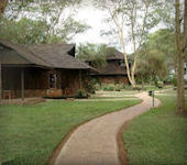 OnsKenia, Amboseli Ol Tukai Lodge accommodatie Amboseli nationaal park Kenia
