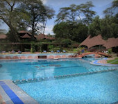 Naivasha meer accommodatie Sopa Lodge
